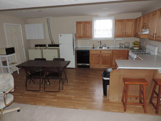 Kitchen in Basement